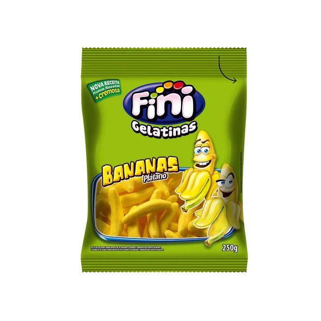 Bala Gelatina 250g Banana Fini
