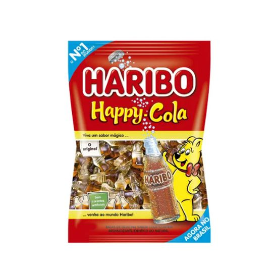 Bala Gelatina 250g Happy Cola Haribo