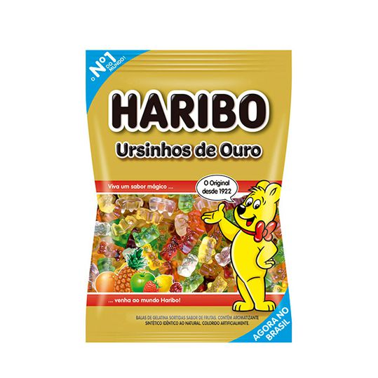Bala Gelatina 250g Ursinho Ouro Haribo