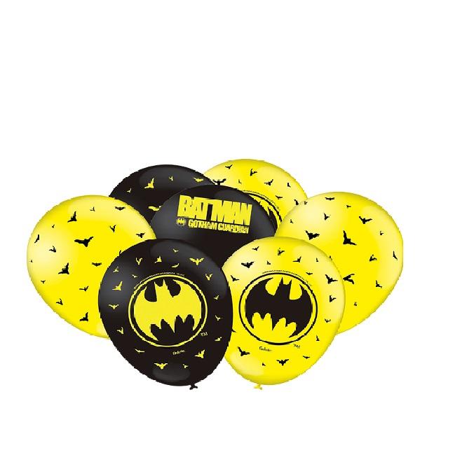 Balão Batman Geek C/25 unid Festcolor