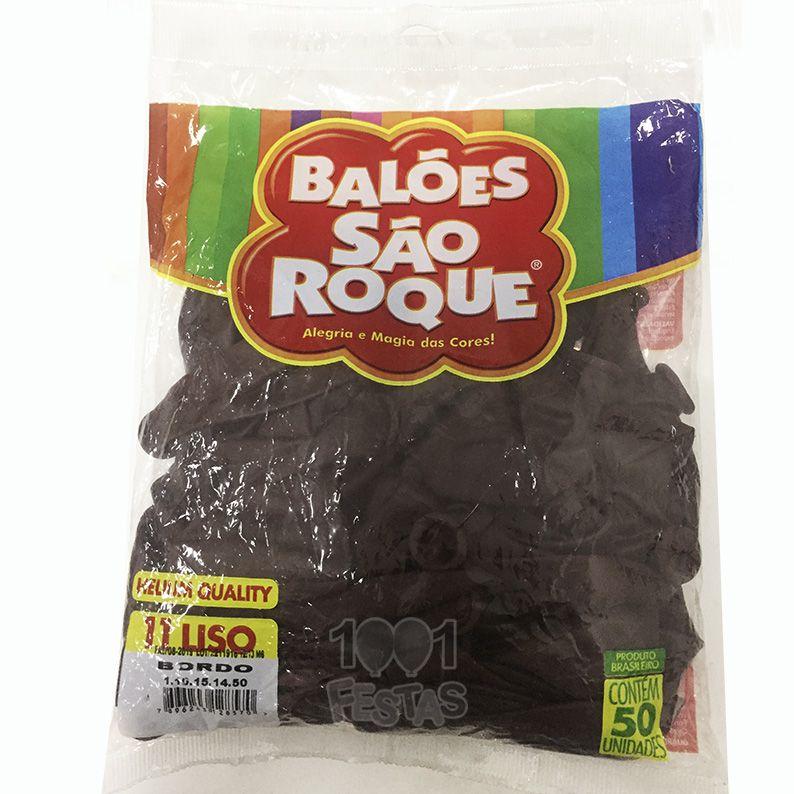 Balão Bordo N11 50 unid. São Roque