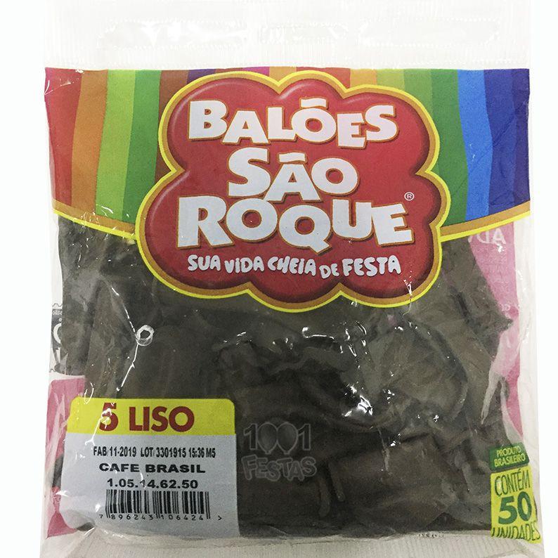 Balão Café Brasil N05 50 unid São Roque