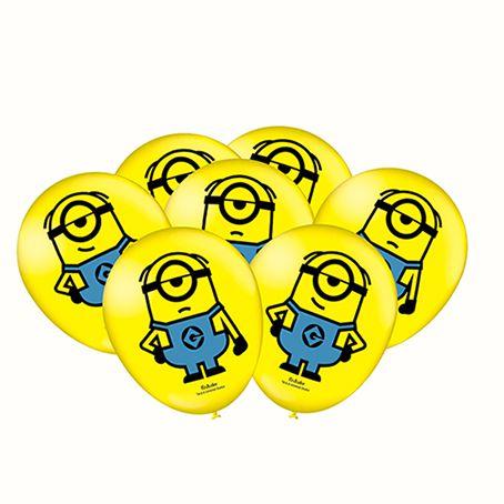 Balão Minions C 25 unid Festcolor