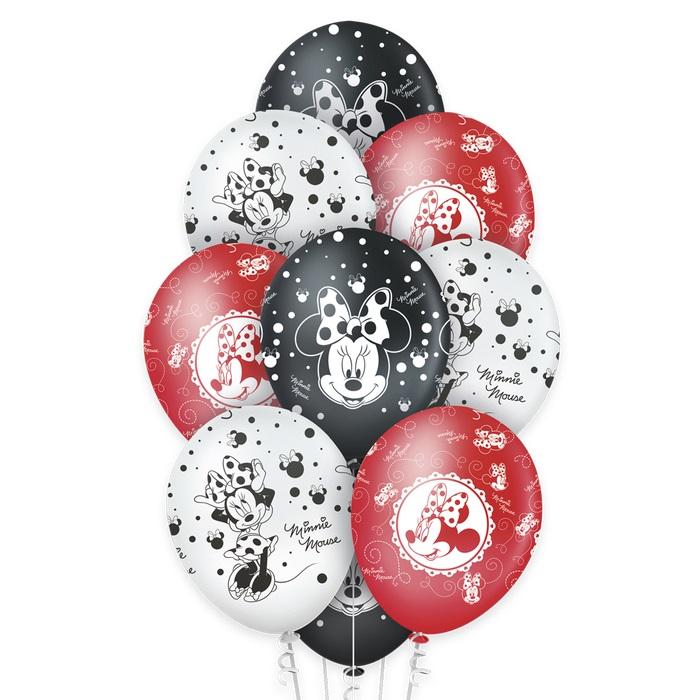 Balão N12 Premium Minnie c/10 unid Regina