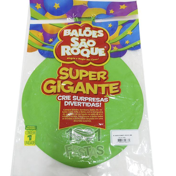 Balão Super Gigante Verde Lima N350 São Roque