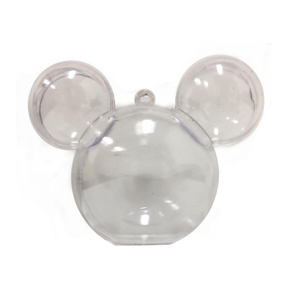 Baleiro Mouse Incolor C 05 unidades