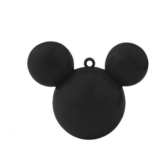 Baleiro Mouse Preto C 05 unidades