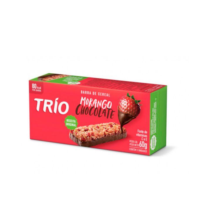 Barra de Cereal Morango Chocolate 3 unid Trío