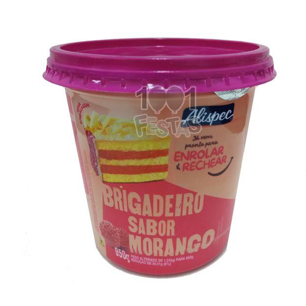 Base Brigadeiro Sabor Morango3950g  Alispec
