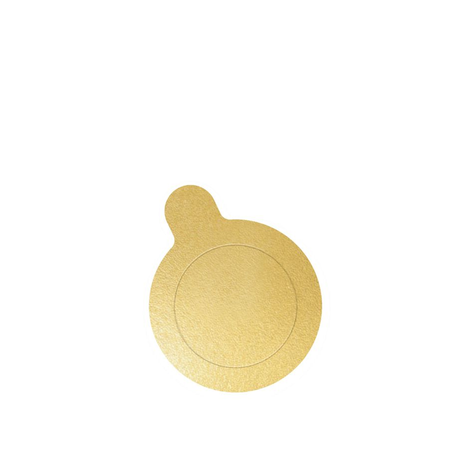 Base de Doce Redonda Ouro 5,5cm c/20 Ultrafest