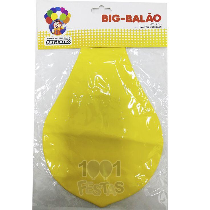 Big Balão N250 Amarelo Art Latex