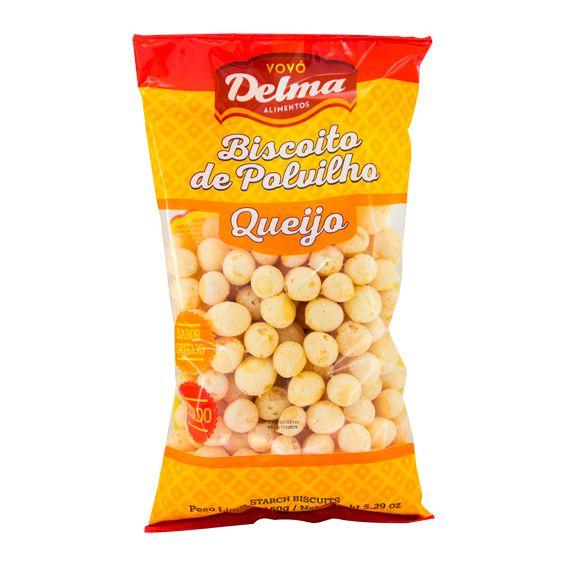 Biscoito de Polvilho Queijo 100g Delma Alimentos