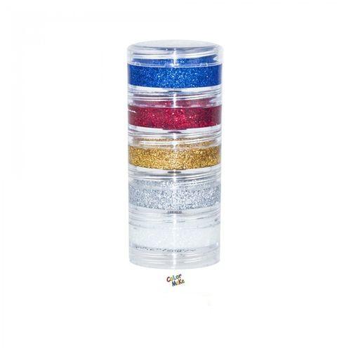 Blush Cremoso Glitter C 05 Cores Colormake