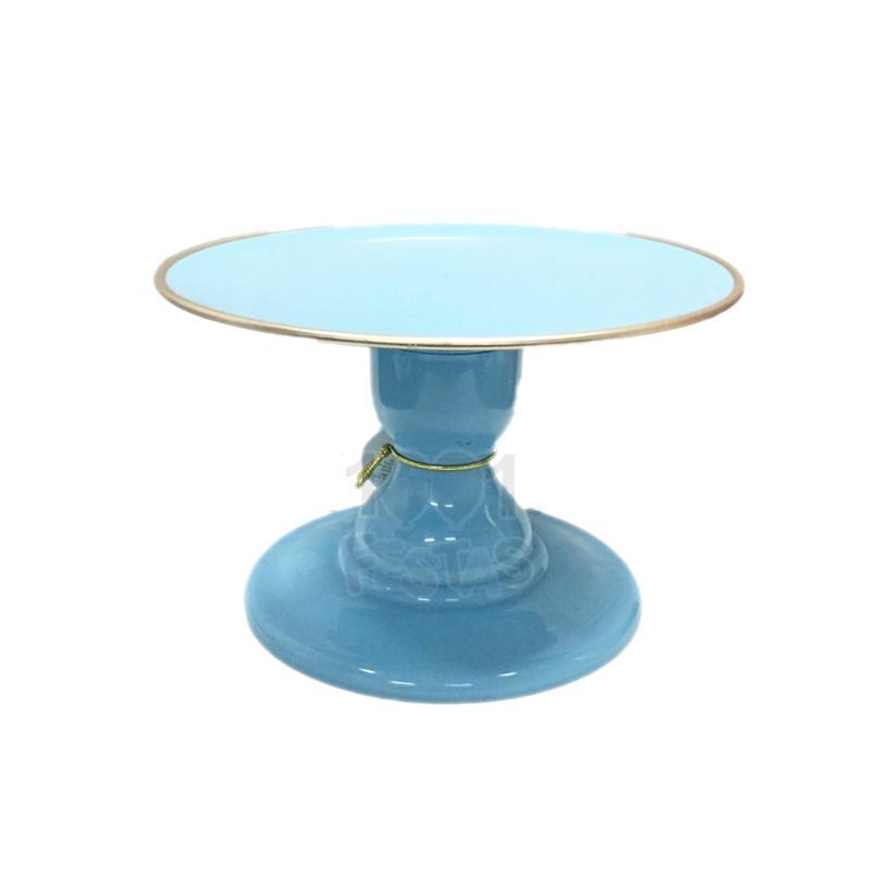 Boleira Mosaico P Azul Céu Filete Só Boleiras
