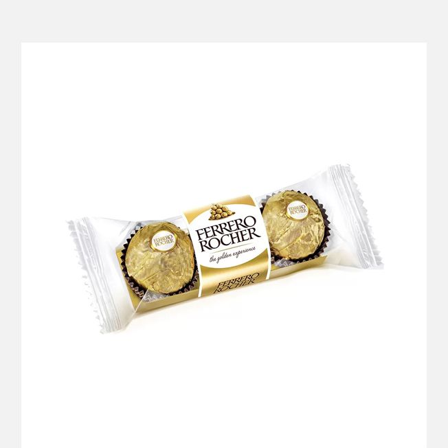 Bombom Ferrero Rocher 37,5g 3 unid