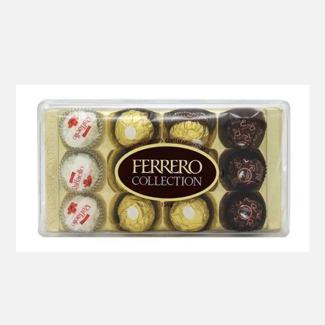 Bombom Ferrero Rocher Collection 134g 12 unid