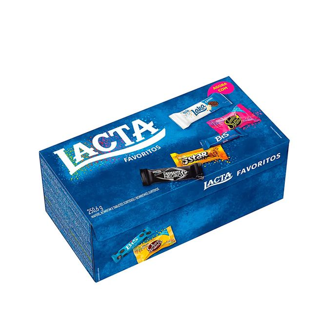 Caixa de Bombom Favoritos 250,6 g Lacta
