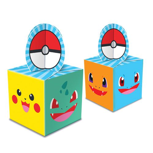 Caixa Lembrança Pocket Monsters C 08 unid Junco