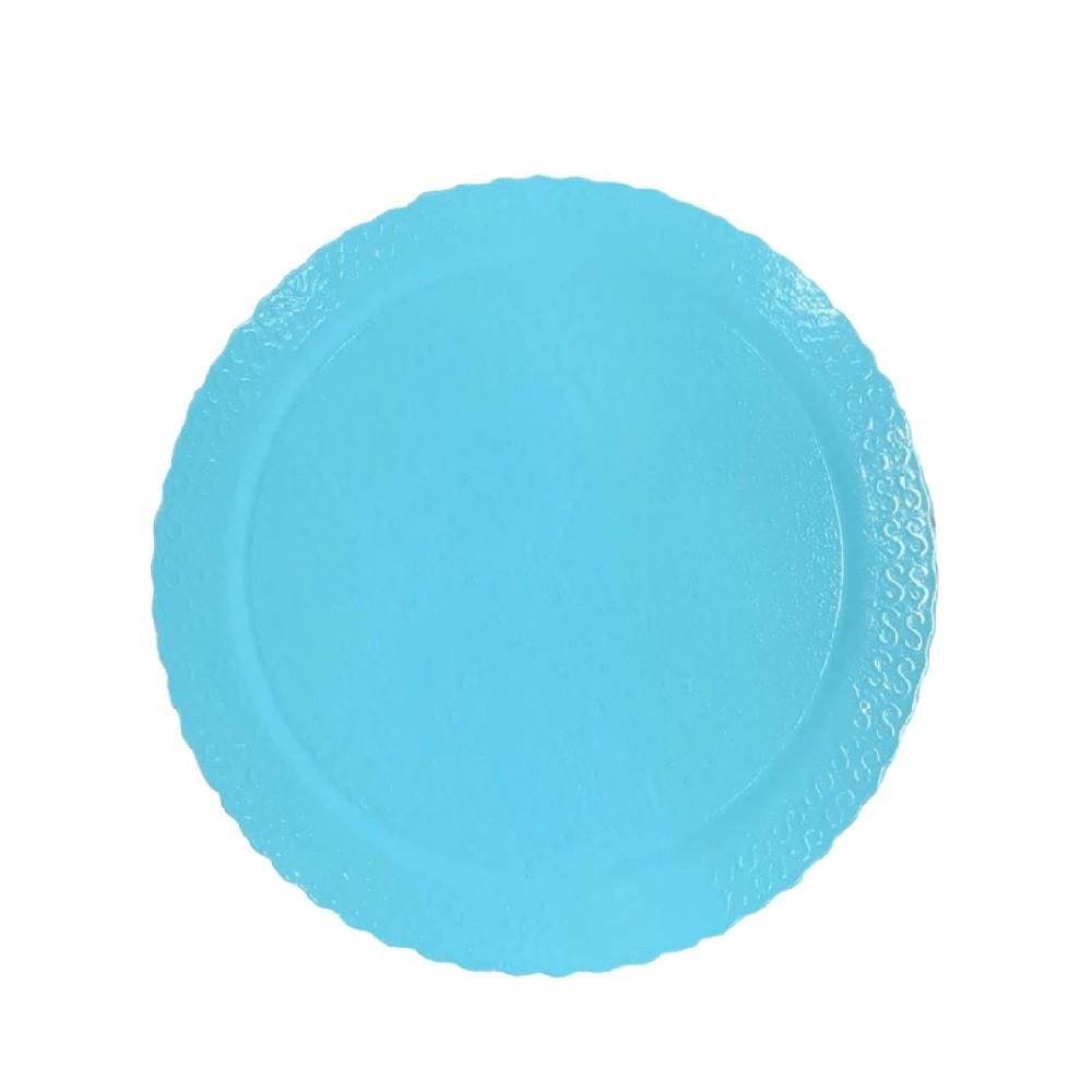 Cake Board Redondo Azul Claro 24cm Ultrafest