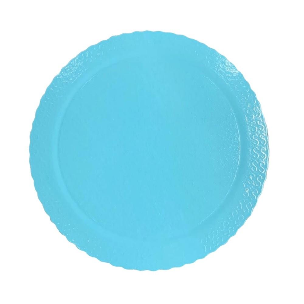 Cake Board Redondo Azul Claro 28cm Ultrafest