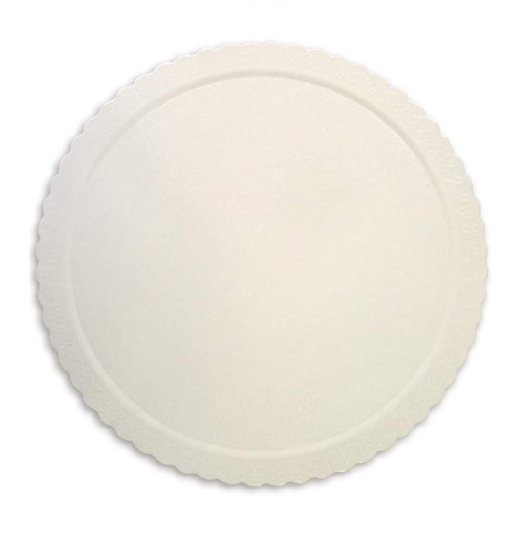 Cake Board  Redondo Branco 32cm Ultrafest