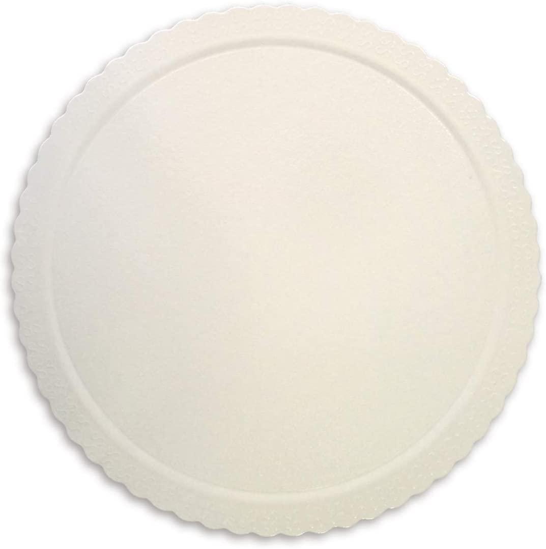 Cake Board  Redondo Branco 38cm Ultrafest