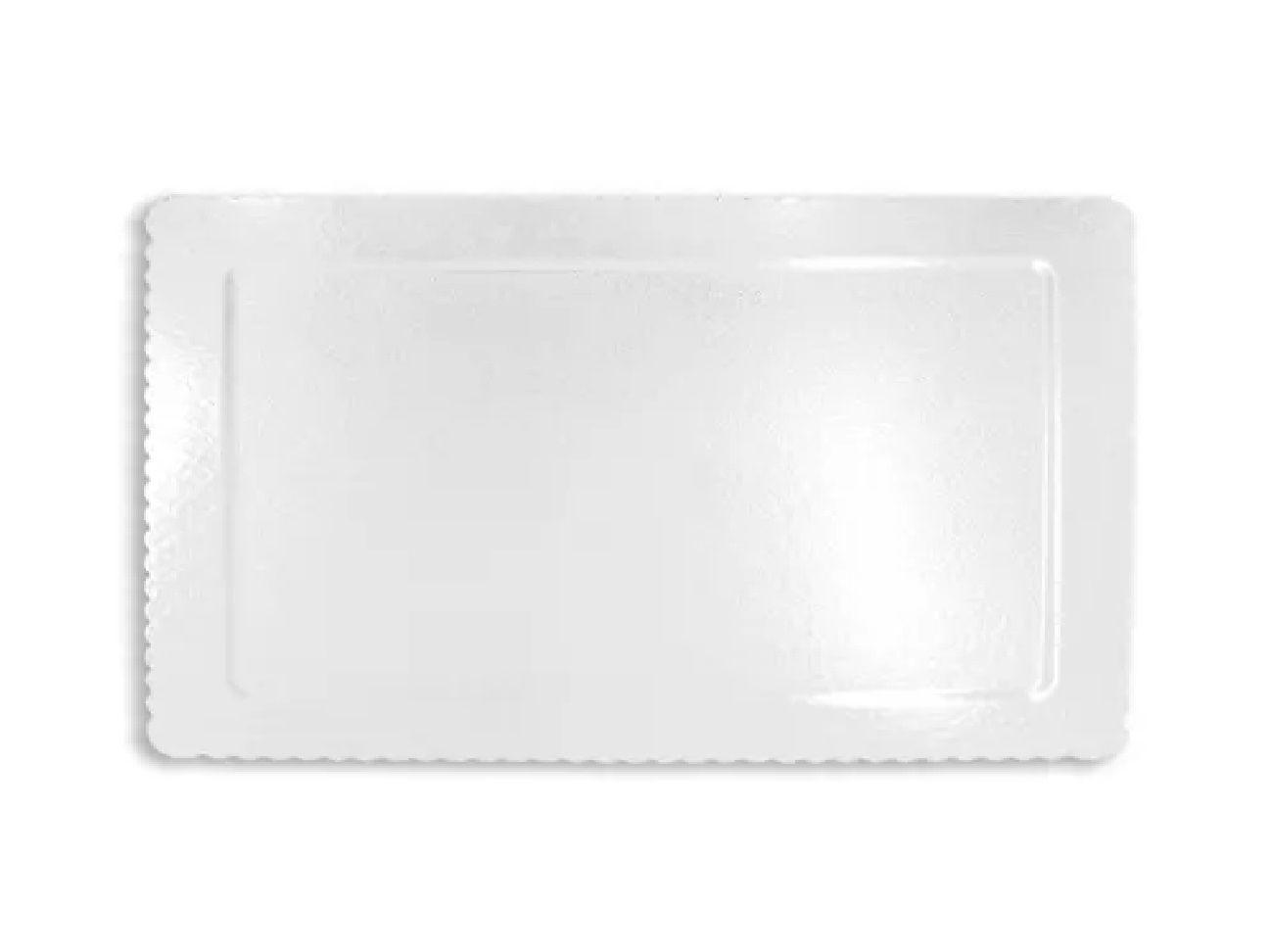 Cake Board Retangular Branco 40x30cm Ultrafest