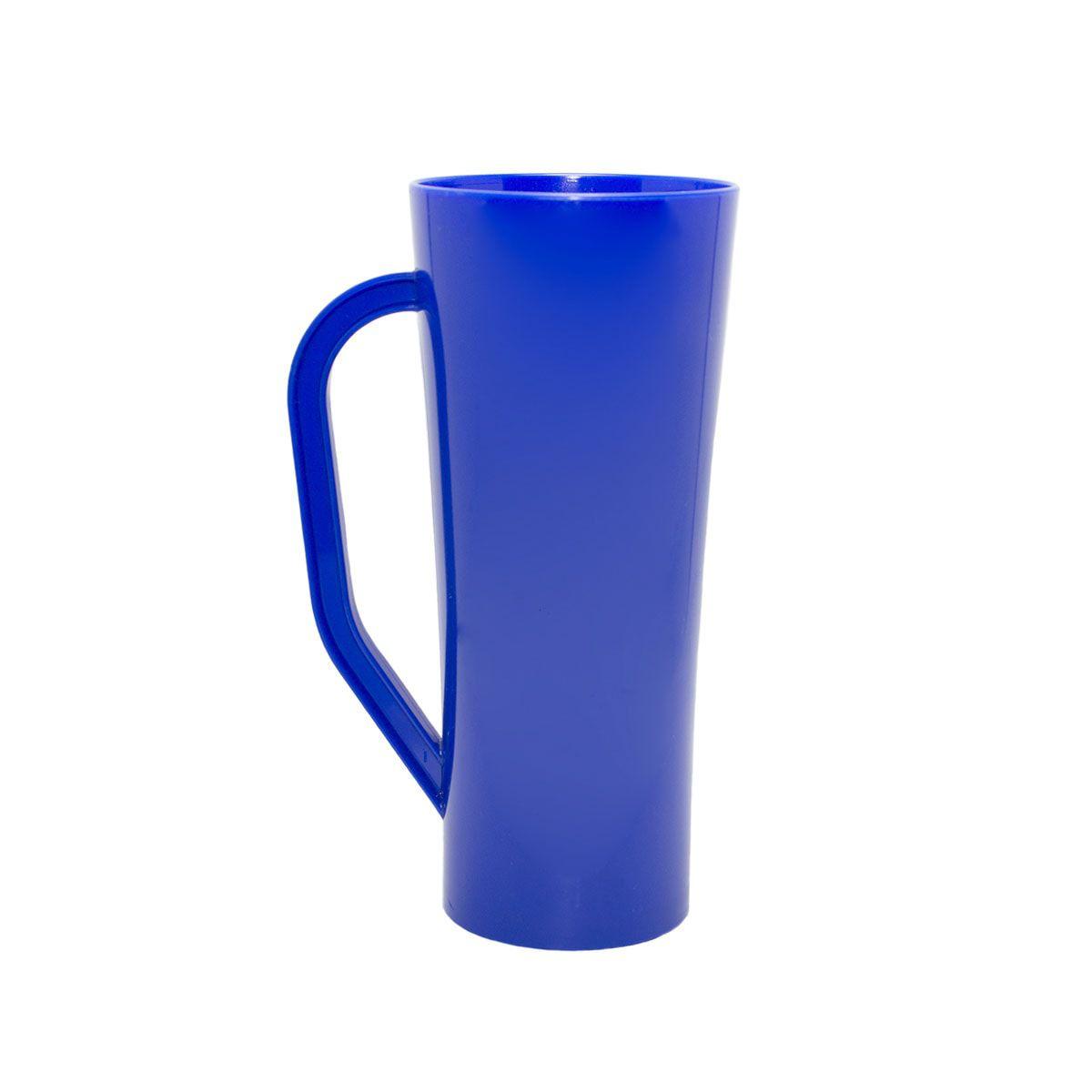 Caneca 400ml Twister Azul Leitoso