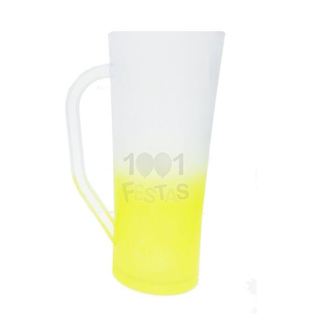 Caneca 400ml Twister Degradê Amarelo