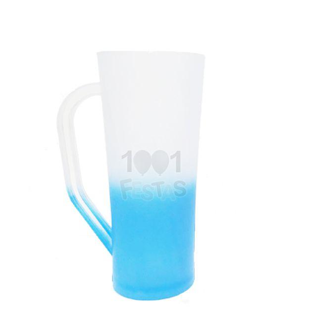 Caneca 400ml Twister Degradê Azul