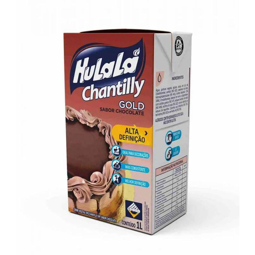Chantilly Hulalá Gold Chocolate 1L