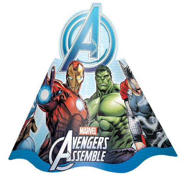 Chapéu Avengers C 08 unid Regina