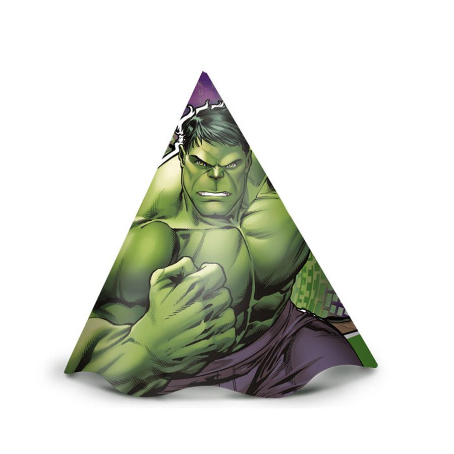 Chapéu Hulk C 12 unid Regina