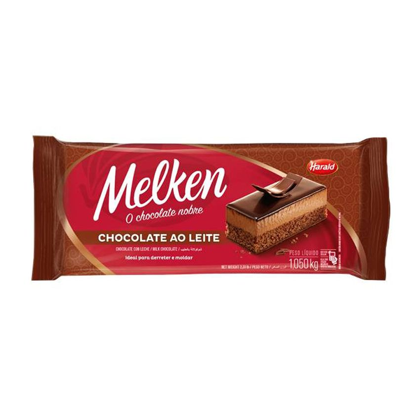 Chocolate ao Leite 1,05kg Harald Melken