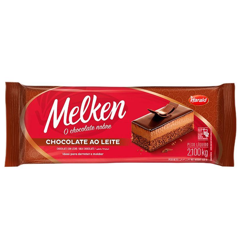 Chocolate ao Leite 2,1kg Harald Melken