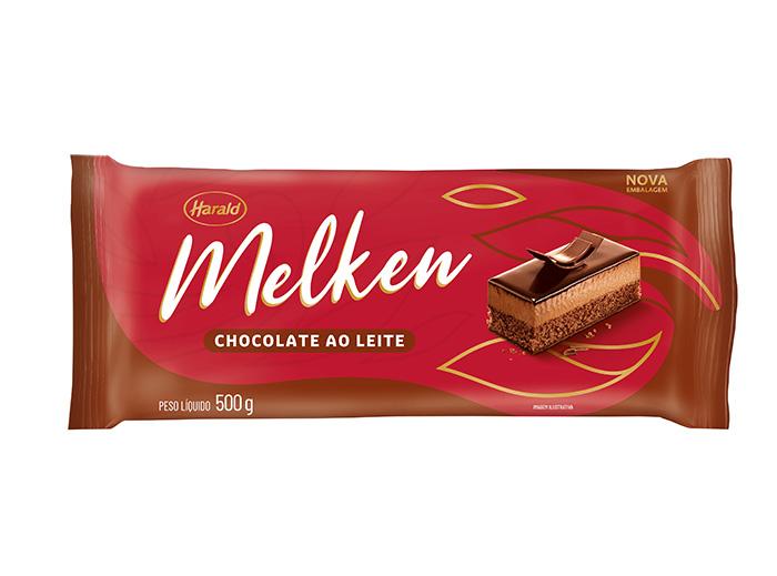 Chocolate ao Leite 500g Harald Melken