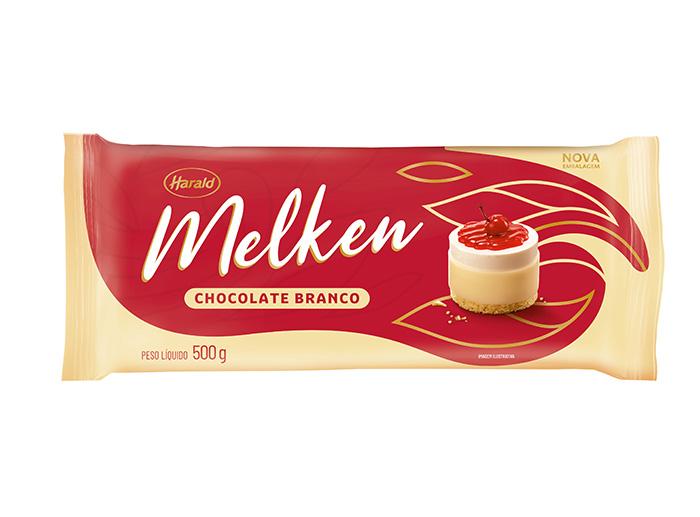 Chocolate Barra Branca 500g Harald Melken