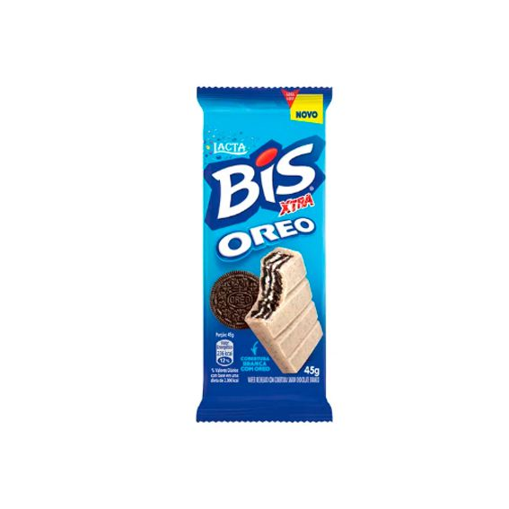 Chocolate Bis XTRA Oreo 45g Lacta