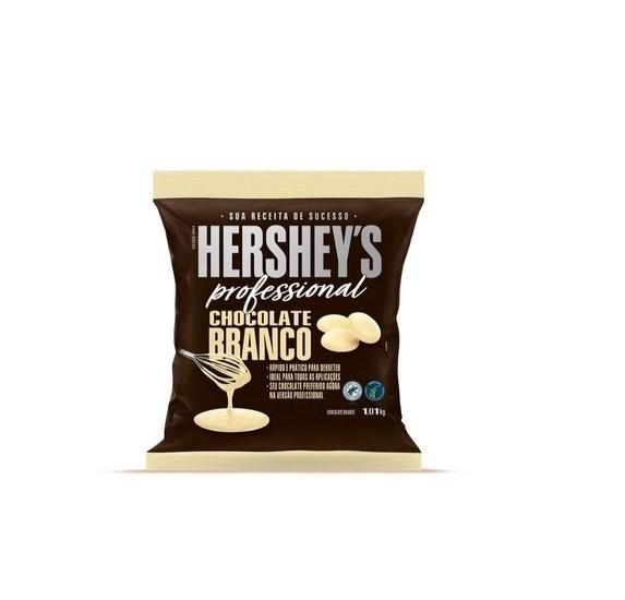 Chocolate Gotas Branco Hershey's Professional 1,01Kg
