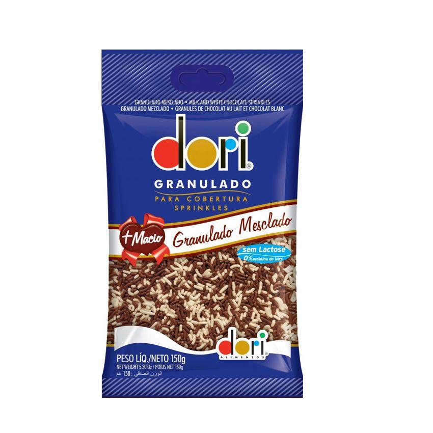 Chocolate Granulado Mesclado 150g Dori