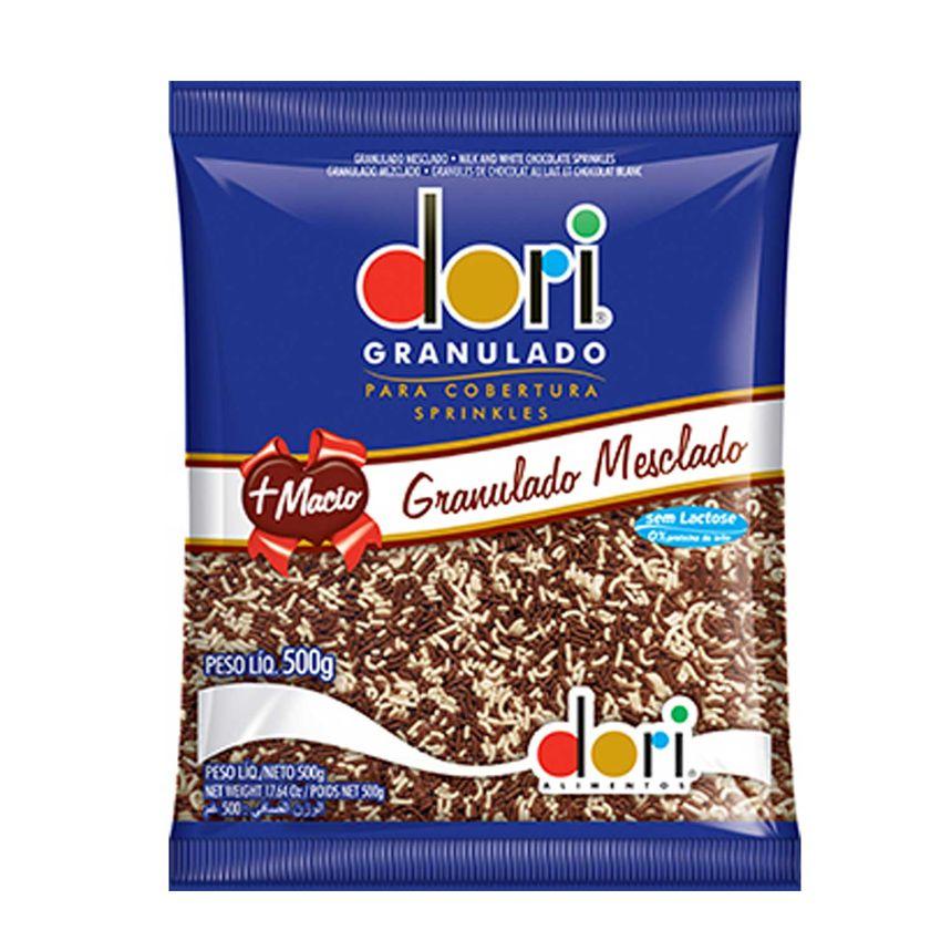 Chocolate Granulado Mesclado 500g Dori
