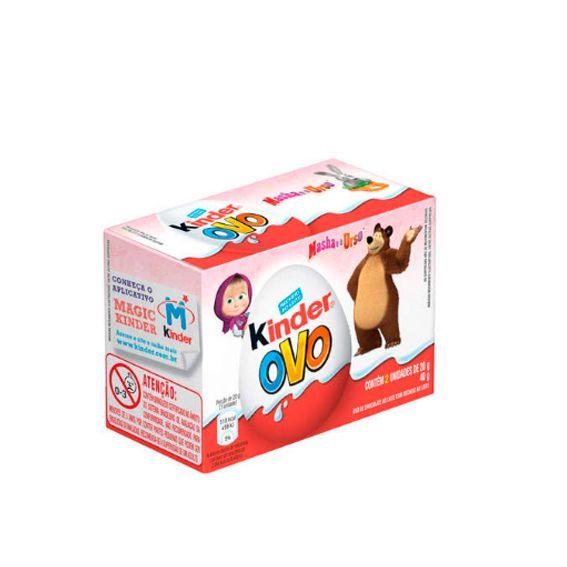 Chocolate Kinder Ovo Masha e o Urso 40g