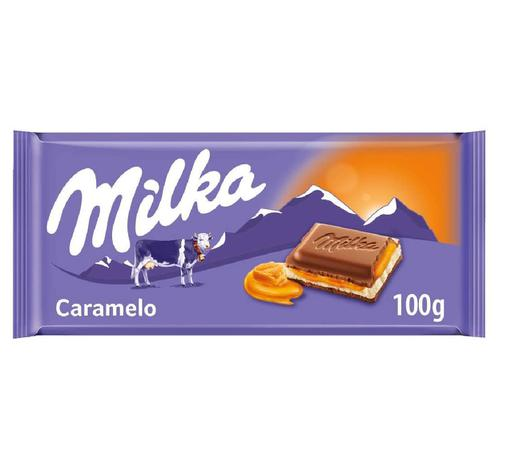 Chocolate Milka Caramel 100g