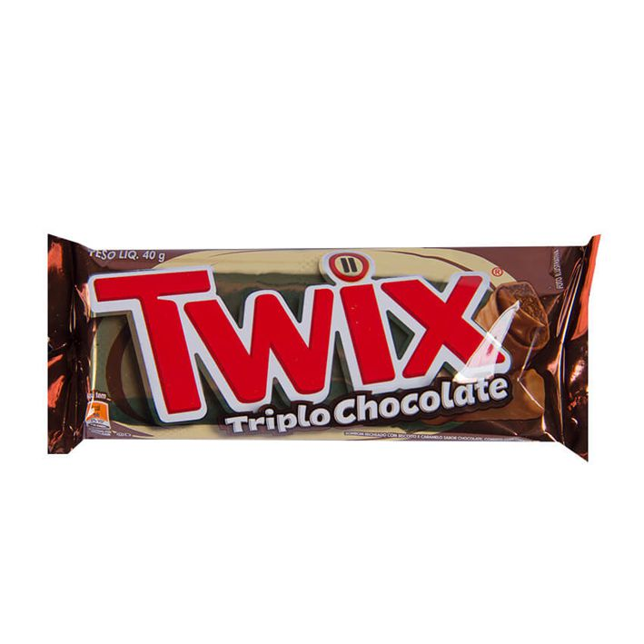 Chocolate Twix Triplo 40g
