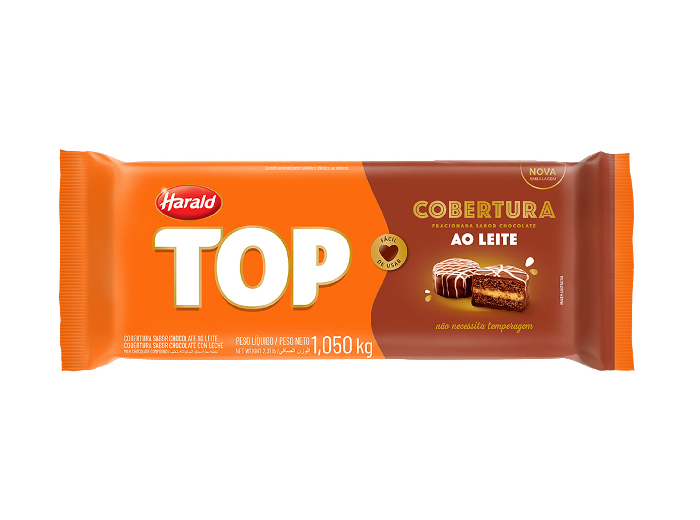Cobertura Chocolate ao Leite 1,05kg Harald Top