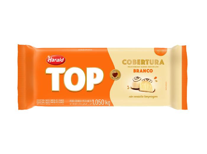 Cobertura Chocolate Branco 1,05 kg Harald Top