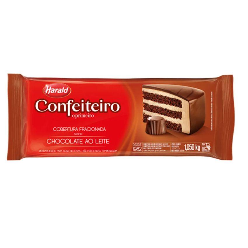 Cobertura Fracionada Chocolate ao Leite 1,05 kg Harald