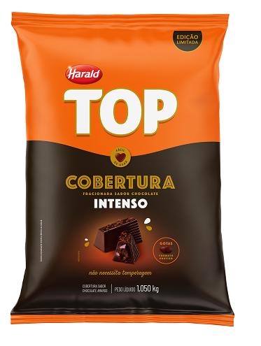 Cobertura Gotas Chocolate Intenso 1,050Kg Harald Top