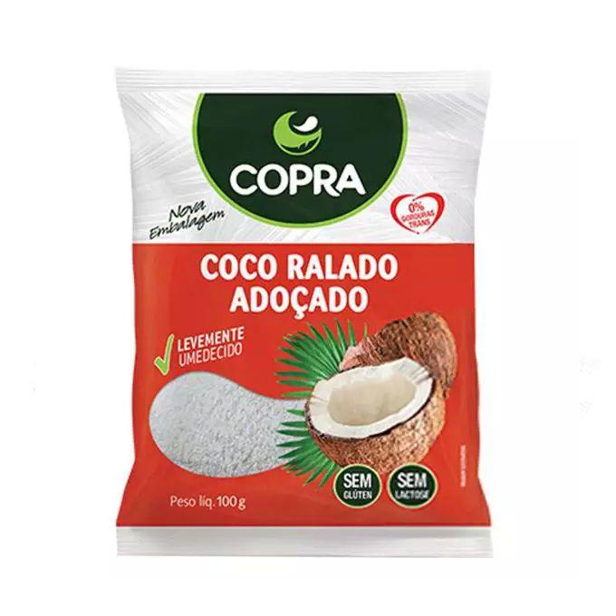 Coco Ralado Adoçado Copra 100g