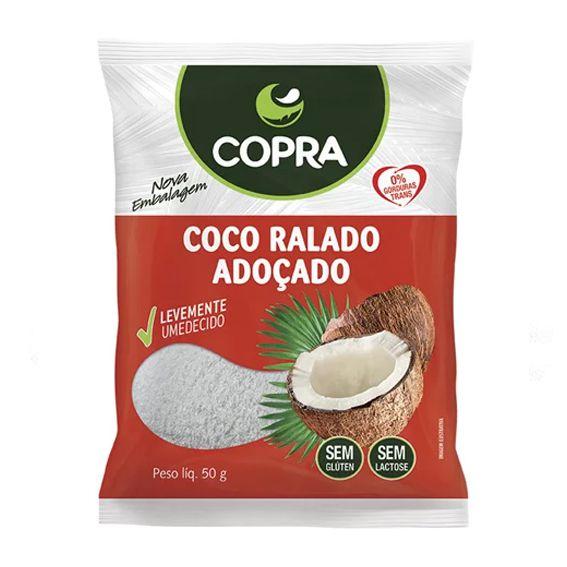 Coco Ralado Adoçado Copra 50g